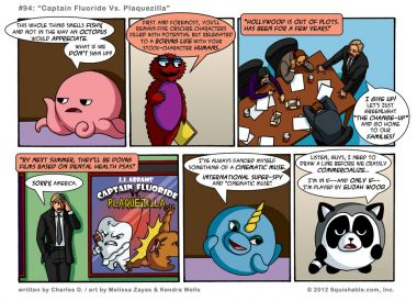 #94: Captain Fluoride Vs. Plaquezilla