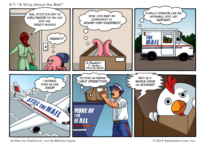 #7: A strip about the mail