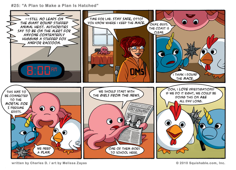 #25: A Plan to Make a Plan Is Hatched