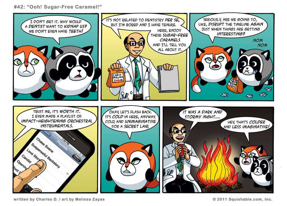 #42: Ooh! Sugar-Free Caramel!