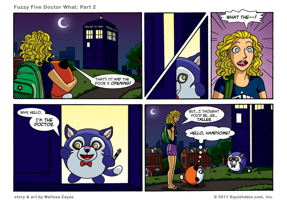 Fuzzy Five Doctor What: Part 2