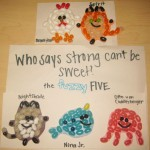 The Fuzzy Five Jellybeans by Carly - 2012 Contest 1st Runner-up!
