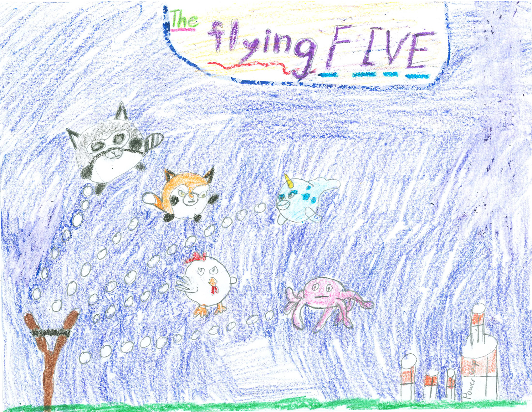 The Flying Five