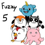 Fuzzy 5 by Hayley