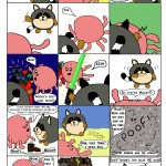 Fuzzy Five Comic by Kim