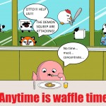 Anytime Is Waffle Time by Sue - 2012 Contest 2nd Runner-Up!