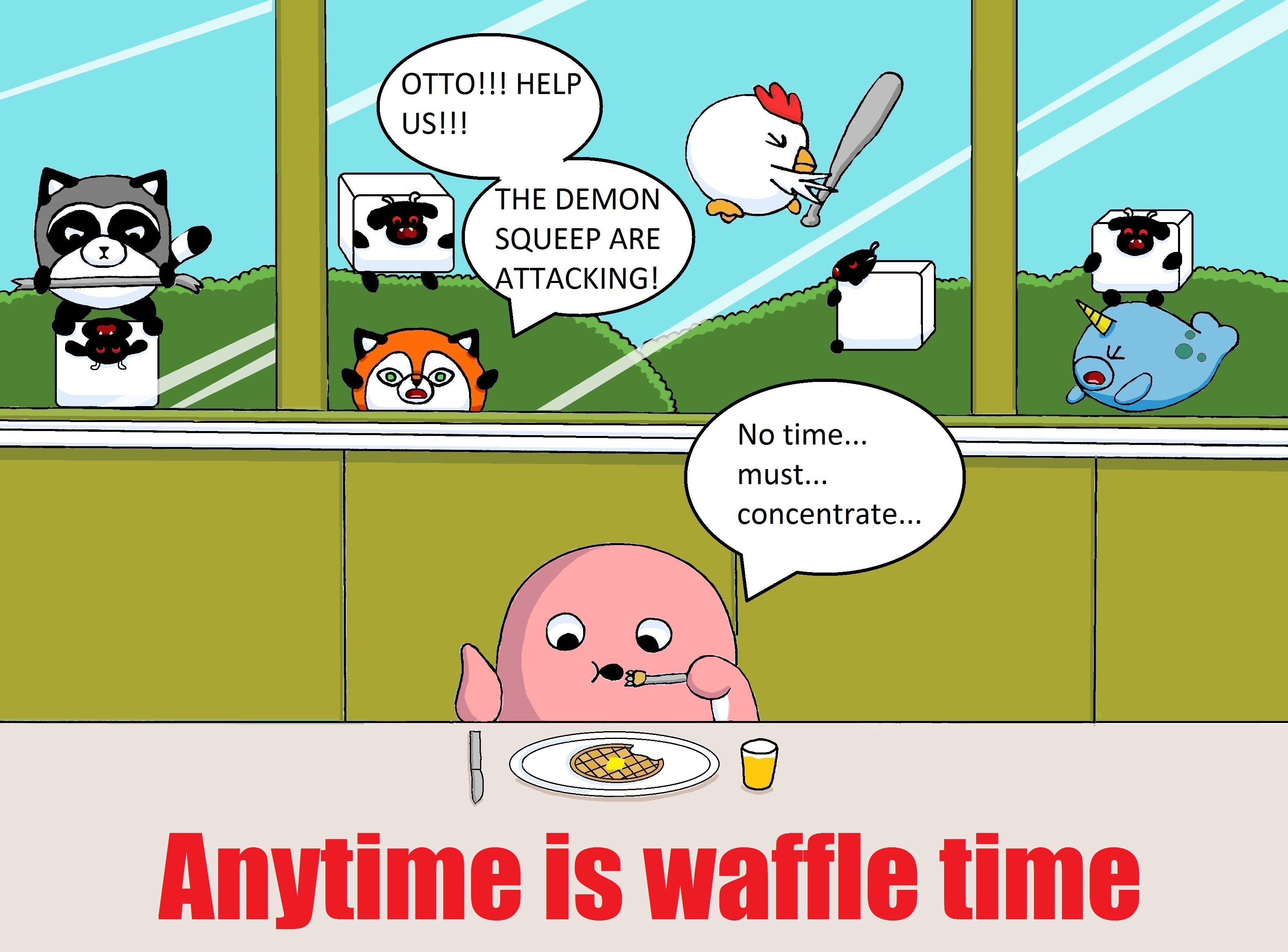 Anytime Is Waffle Time